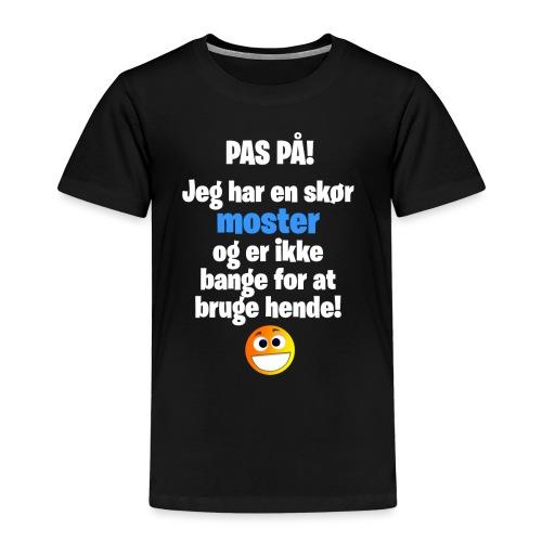 Pas På! Moster - Dreng - Børne premium T-shirt