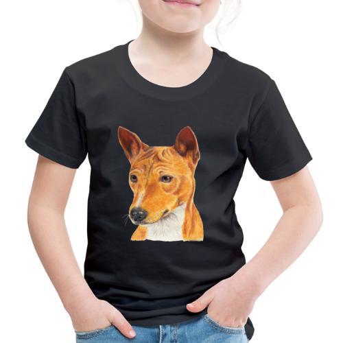 Basenji - Børne premium T-shirt