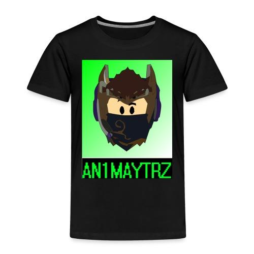 AN1MAYTRZ logo + title - Kids' Premium T-Shirt