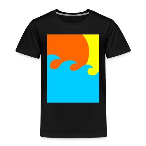 sun - Kinderen Premium T-shirt