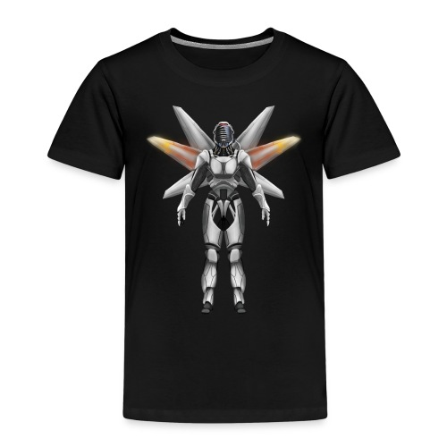 Robot with wings - Kids' Premium T-Shirt