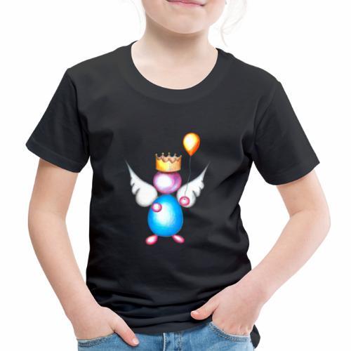 Mettalic Angel geluk - Kinderen Premium T-shirt