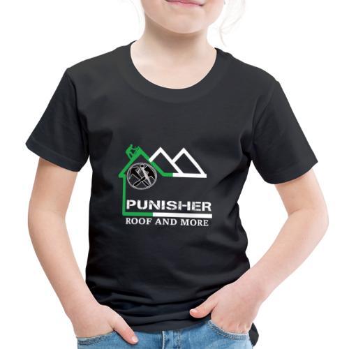 PUNISHER LOGO komplett FRONT u. Back - Kinder Premium T-Shirt