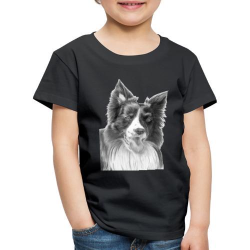border collie 3 - Børne premium T-shirt