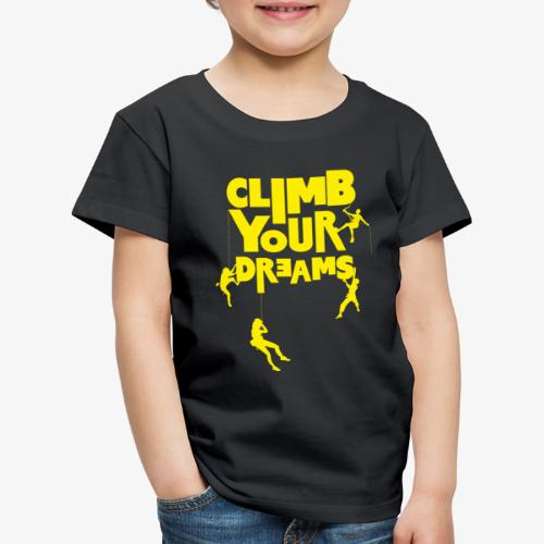 Scale your dreams - Kids' Premium T-Shirt
