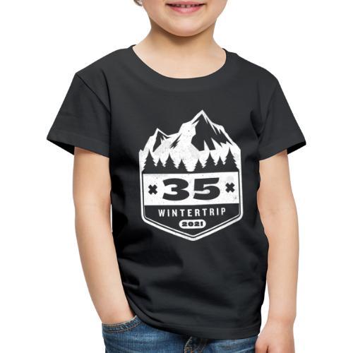 35 ✕ WINTERTRIP ✕ 2021 - Kinderen Premium T-shirt