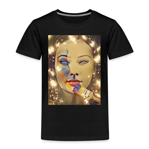 Gesicht Gemälde - Kinder Premium T-Shirt