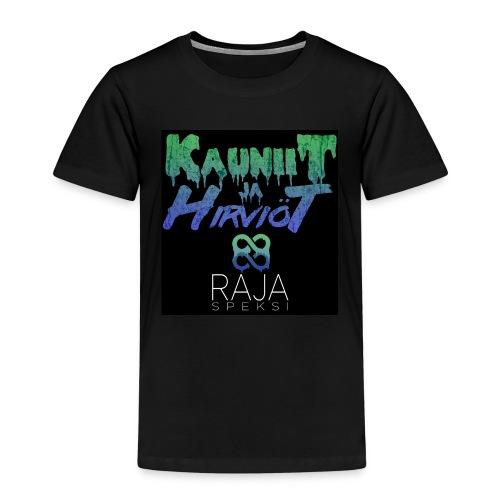 RajaSpeksi: Kauniit ja hirviöt - Lasten premium t-paita