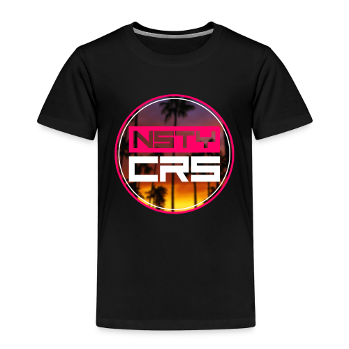 Nasty Logo Classic - Kinder Premium T-Shirt