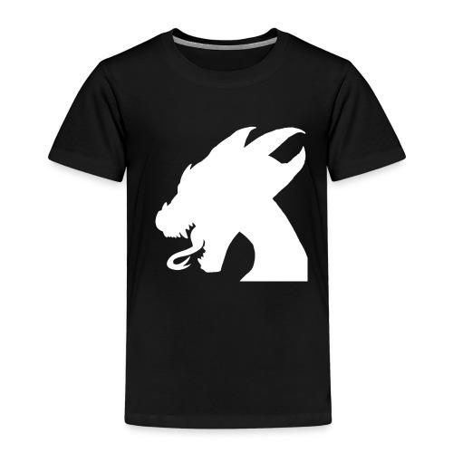 Dragone Bianco - Maglietta Premium per bambini