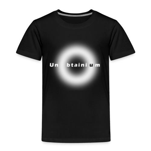 Unubtainium Circle Logo - Kinder Premium T-Shirt