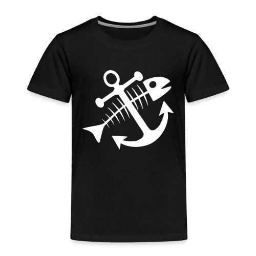 Fischkutterpirat cap - Kinder Premium T-Shirt