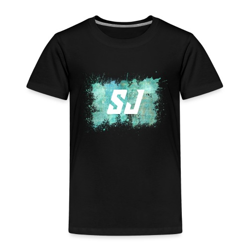 SJ Coloursplash - Premium T-skjorte for barn
