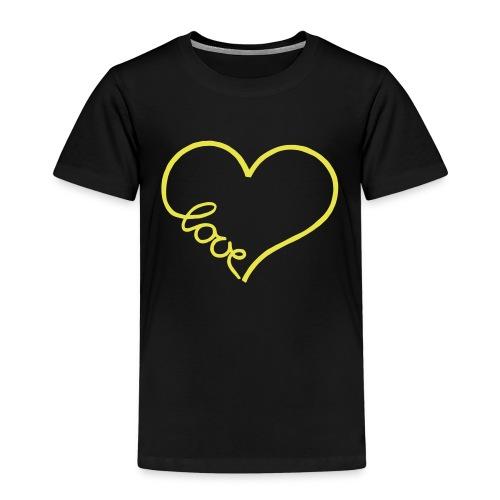 love heart 1 - Kids' Premium T-Shirt