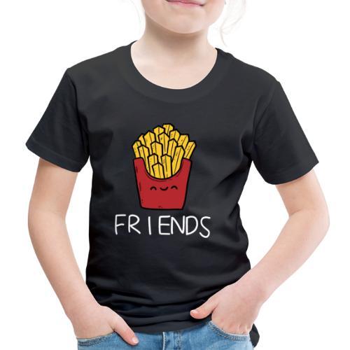 Burger und Pommes Best Friends Partnerlook - Kinder Premium T-Shirt