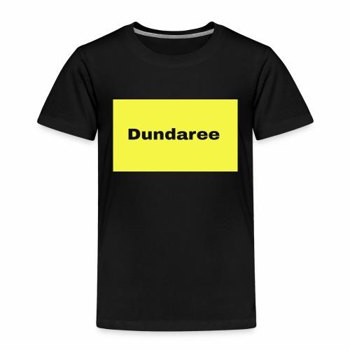 yellow & black dundaree gear - Kids' Premium T-Shirt