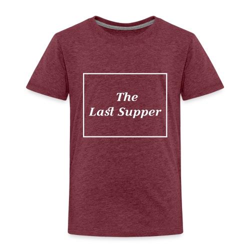 The Last Supper Leonardo Da Vinci Renaissance - Kinder Premium T-Shirt