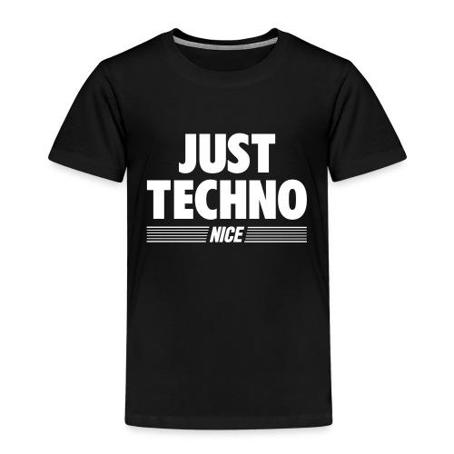 Just techno - Kids' Premium T-Shirt