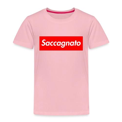 Saccagnato - Maglietta Premium per bambini