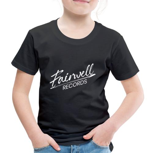 Fairwell Records - White Collection - Børne premium T-shirt