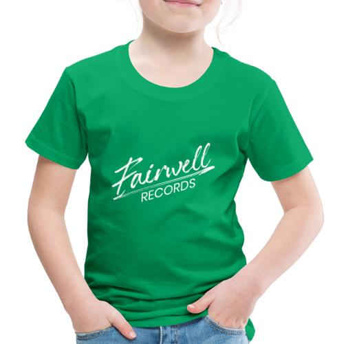 Fairwell Records - White Collection - Børne premium T-shirt