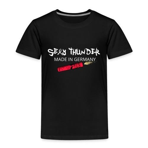 Silvester Feuerwerk Knaller - Kinder Premium T-Shirt