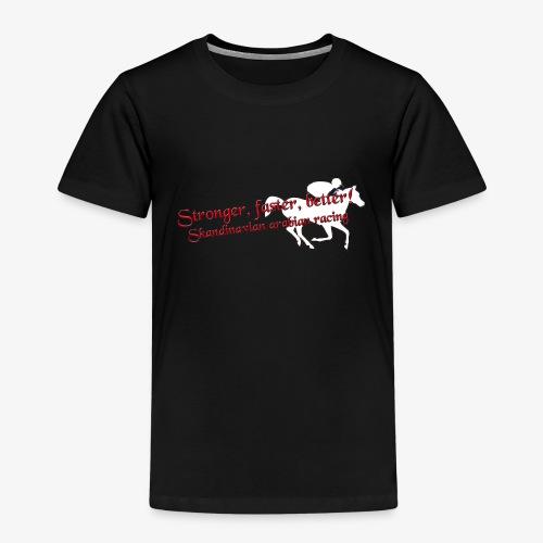 stronger,faster, better - Premium-T-shirt barn