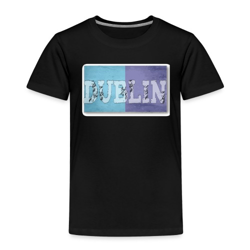 Dublin Distressed Flag T-Shirt - Kids' Premium T-Shirt