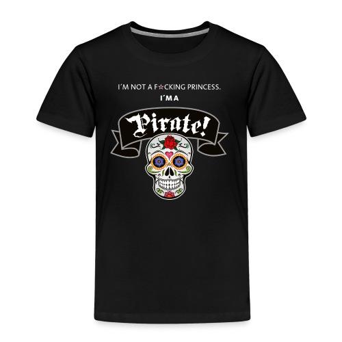 Pirate for Black - Kinder Premium T-Shirt