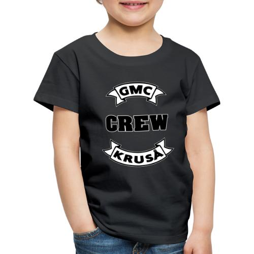 GMC CREWSHIRT - KUN FOR / CREW MEMBERS ONLY - Børne premium T-shirt