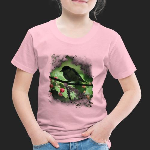 Petit oiseau dans la forêt - T-shirt Premium Enfant