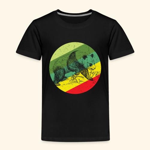 Chinese Panda Retro - Kids' Premium T-Shirt