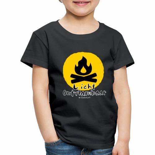 Licht ontvlambaar - Kinderen Premium T-shirt