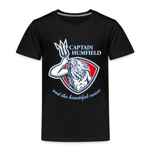 Captain Humfield Logo - Kinder Premium T-Shirt