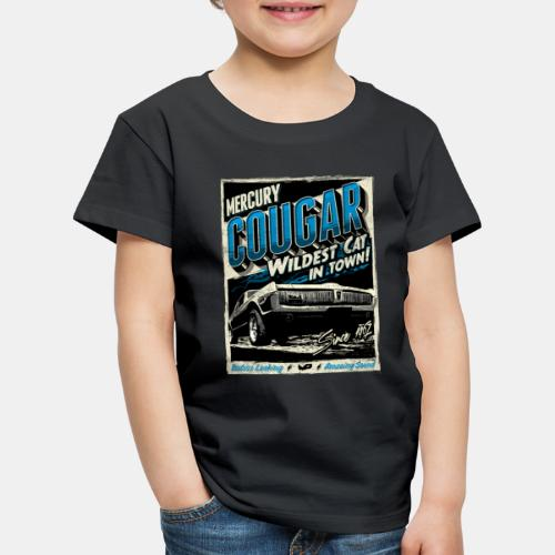 Mercury Cougar 1968 blau - Kinder Premium T-Shirt