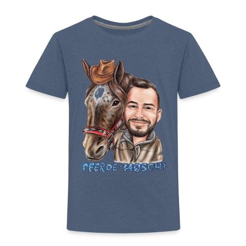 Hoschi-Karikatur forne - Kinder Premium T-Shirt