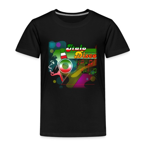 Italo Disco Lover - Premium T-skjorte for barn