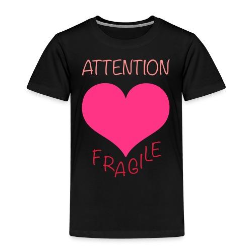 coeur fragile - T-shirt Premium Enfant