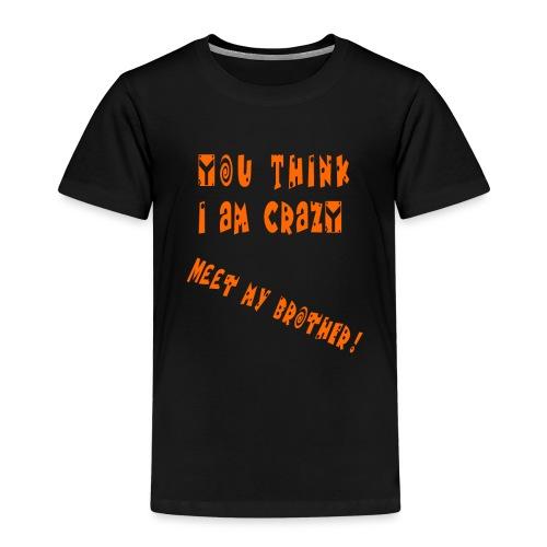 Crazy Brother - Lasten premium t-paita