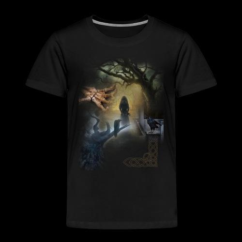 Dark Side No. 01 - Kinder Premium T-Shirt