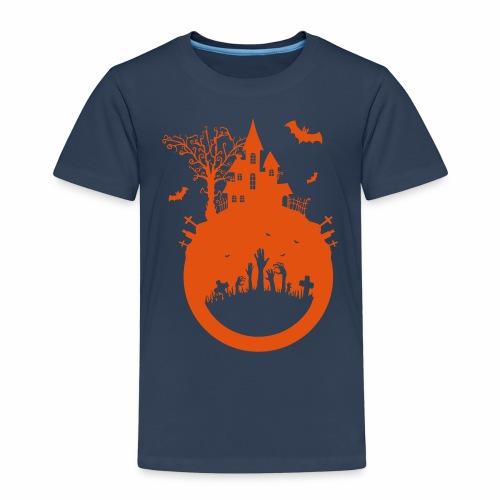 Halloween Design - Das Spukhaus - Kinder Premium T-Shirt