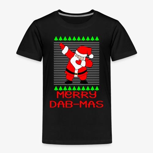 Merry Dab-Mas Ugly Xmas - Kinder Premium T-Shirt