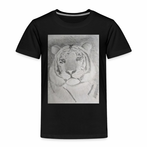 tiger art - Kids' Premium T-Shirt