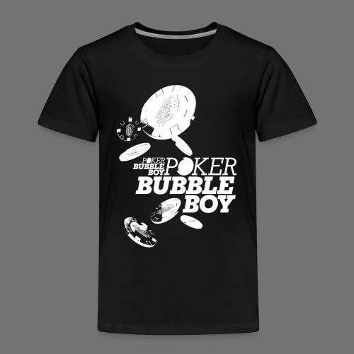 Poker - Bubble Boy (white) - Kids' Premium T-Shirt
