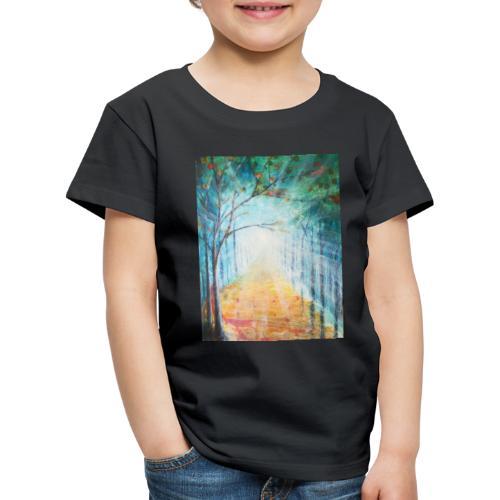 Im Zeichen des Lichts - Künstler Jan Korski - Kinder Premium T-Shirt