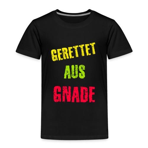 Gerettet aus Gnade - Kinder Premium T-Shirt
