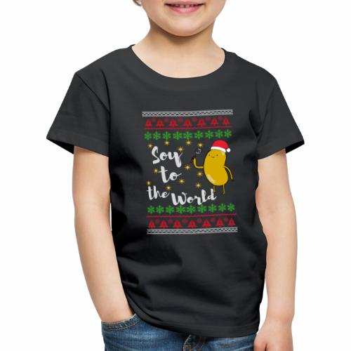 Soy to the world 1 - Kinderen Premium T-shirt