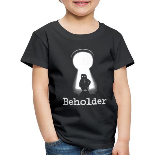 Carl in a Keyhole - Kids' Premium T-Shirt