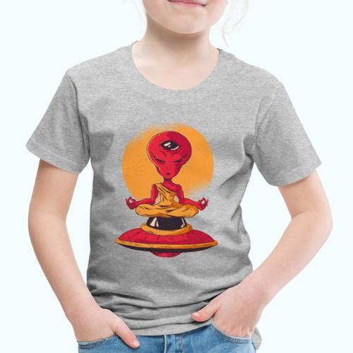 Alien meditation - Kids' Premium T-Shirt