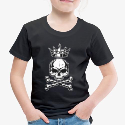 Skull King -Totenkopf König - Kinder Premium T-Shirt